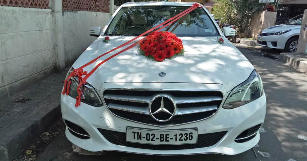 Benz S Class Rental For Wedding