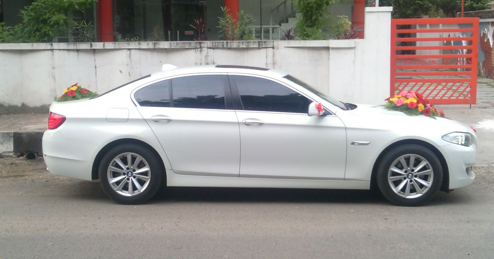 bmw 5 series car rental for wedding