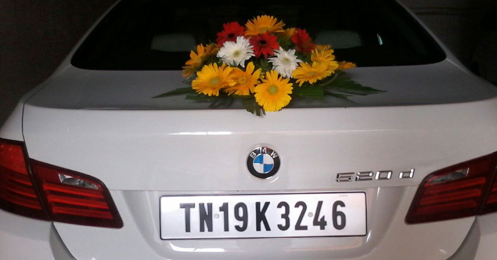 bmw 5 series car rental for event