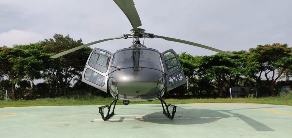 Helicopter Rental In  Chennai